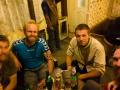 Socializing at Joey's pub Darjeeling