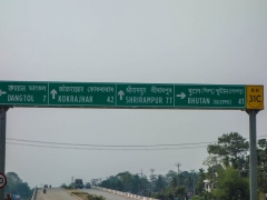 Very close to Bhutan!