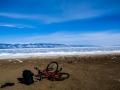 Lake Baikal on the shore