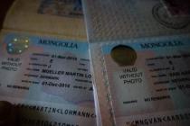 Mongolian visa!