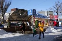 Almaty street life