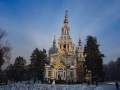 Church in Panfilov park