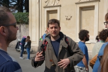 Our guide, Alessandro