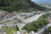 Berat with old bridge