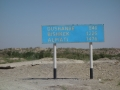 First sign in Uzbekistan