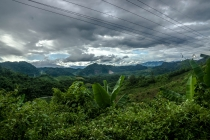 Stormy clouds in Laos