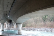 Underneath the highway