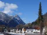 Great view of small Austrian village