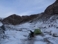 Camping at -18