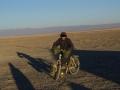 The man riding Mojo