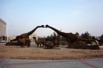 Dinosaurs in Erlian