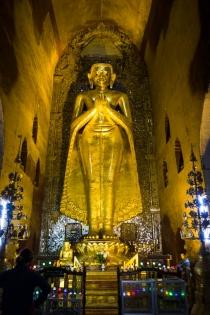 Buddha in Ananda Pahta temple