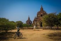 Susanne at the Kingdom of Bagan