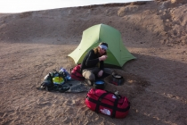 Cooking in the Gobi