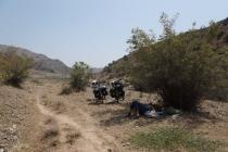 Back into desert again