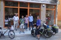 At the Malatya bicycle shop