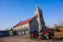 A church in a small village