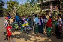 Nice conversation in village