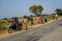 Women working in the fields