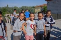 Schoolgirls in Selime