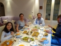 Dinner with Ali and family