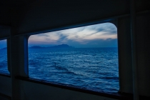 The ferry to South Korea