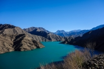 Beautiful Naryn river