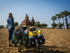 Our first temple of Bagan!