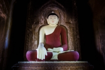 Beautiful Buddha in Bagan