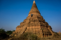 Kingdom of Bagan, our sunset/sunrise temple
