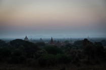 Sunrise at kingdom of Bagan