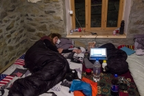 Martin feeling unwell in Khorog