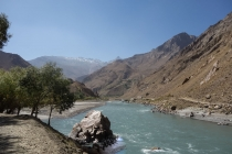 Nice lushness in the Wakhan valley