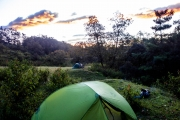 Camping with Davide