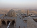View of mosque and Mesopotamian plain