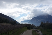First view of Lago di Garda