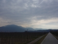 On the road from Meran