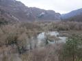 Small Lago di Loppio on the way to Lago di Garda