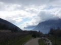 First view of Lago di Garda