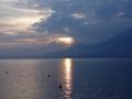 Lago di Garda at sunset