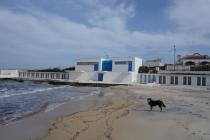Clandestina at the beach
