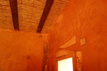 Some detailing in straw bale house