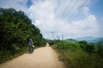 On the shortcut to Luang Prabang