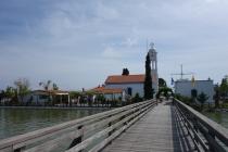 Monastery at lake Vistonida