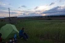 Camping near Xinagali, muddyness....