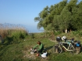 Camping near lake Iznik Golu