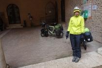 In Ferrara in the rain and having fun :S