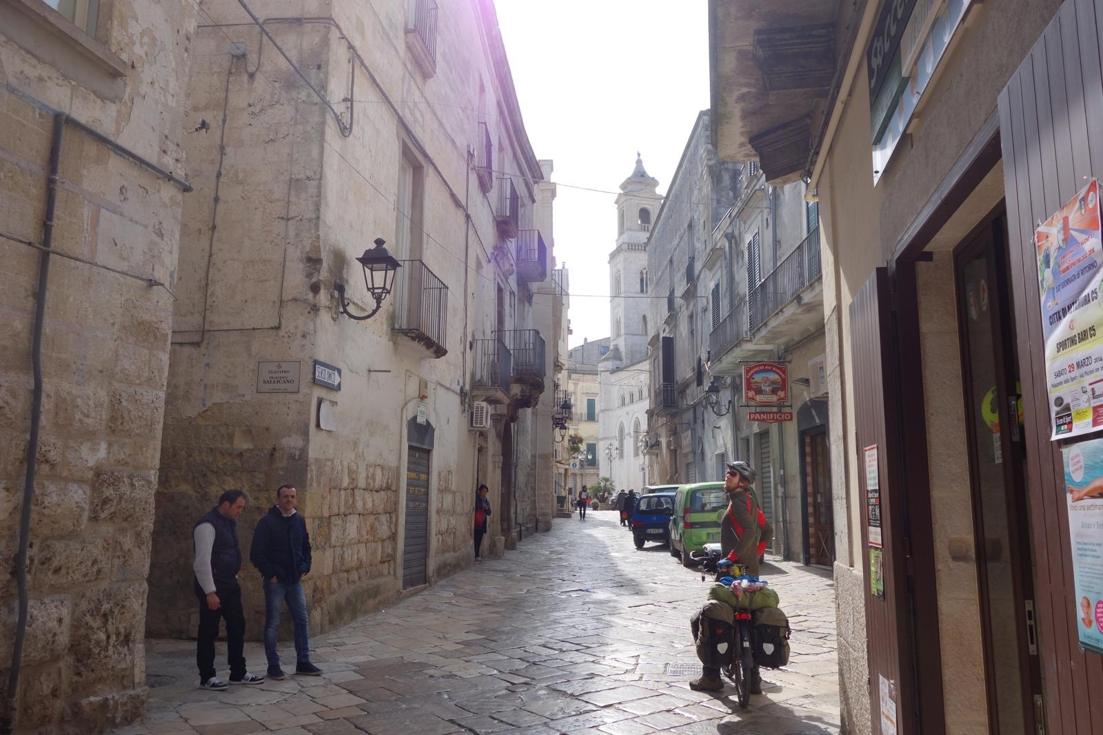 Mola Di Bari Italy  City pictures : Poggiorsini to Mola di Bari