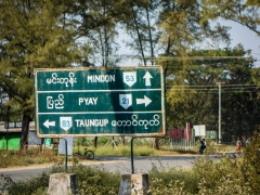 On route to Pyay