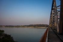 Over the river to Pyay